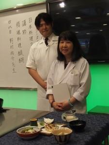 会長と野村先生